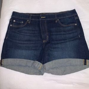 Blue Jean Banana Republic shorts